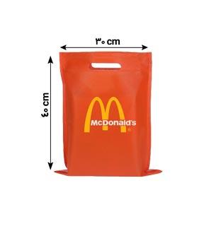 ساک دستی تبلیغاتی پارچه ای 40×30